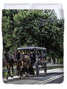 Amish Country - Intercourse Pennsylvania Duvet Cover