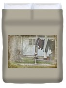 Amish Pump And Cup Duvet Cover