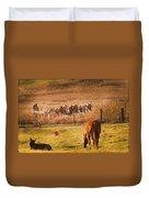Amish Transportatin All Sizes Duvet Cover