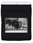 Amish Transportation Duvet Cover