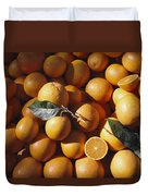 An Abundance Of Oranges Duvet Cover