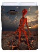 An Alien World Where Its Native Duvet Cover