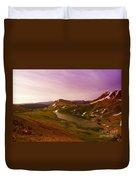 An Alpine Lake On Beartooth Pass  Duvet Cover