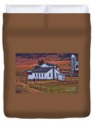 An Amish Farm Duvet Cover