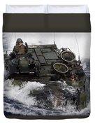 An Amphibious Assault Vehicle Duvet Cover