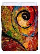 An Artist In Wonderland Duvet Cover