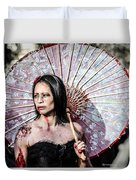 An Asian Zombie Duvet Cover by Stwayne Keubrick