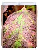 An Autumn's Leaf Duvet Cover