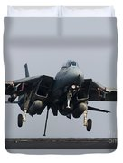 An F-14d Tomcat Comes In For An Duvet Cover