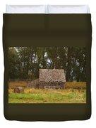 An Idaho Barn Duvet Cover