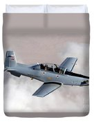 An Iraqi Air Force T-6 Texan Trainer Duvet Cover