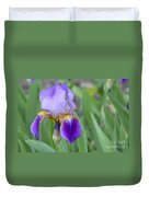 An Iris Blossom Duvet Cover