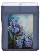 An Iris For My Love Duvet Cover
