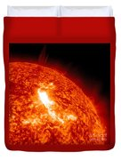 An M8.7 Class Flare Erupts On The Suns Duvet Cover