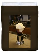 An Old-fashioned Ice Cream Soda Awaits Duvet Cover