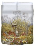 An Old Well Brook Surrey Duvet Cover
