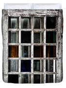 An Old Window Pane Duvet Cover