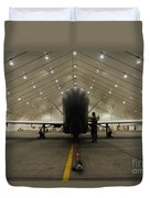 An Rq-4 Global Hawk Unmanned Aerial Duvet Cover
