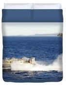 An Sh-60f Seahawk Helicopter Follows Duvet Cover