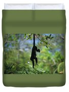 An Unidentified Monkey Hangs Duvet Cover