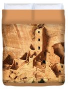 Ancient Anasazi Indian Cliff Dwellings Duvet Cover