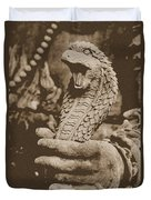 Ancient Cobra Duvet Cover