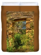 Ancient Doorway Duvet Cover
