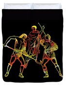 Ancient Roman Gladiators Duvet Cover