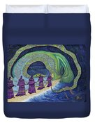 Ancient Serpent Duvet Cover
