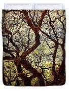 Ancient Winter Tree Duvet Cover