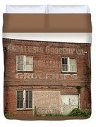 Andalusia Grocery Co Duvet Cover
