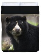 Andean Or Spectacled Bear, Tremarctos Duvet Cover