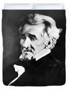 Andrew Jackson, 7th American President Duvet Cover by Omikron