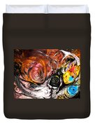 Anewed Antypityped Five Fish Duvet Cover