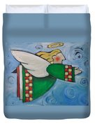 Angel Flight Duvet Cover