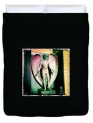 Angel In The City Of Angels Duvet Cover