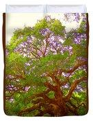 Angel Oak Tree1 Duvet Cover
