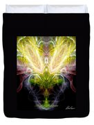 Angel Of Abundance Duvet Cover