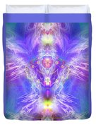 Angel Of Ascension Duvet Cover