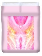 Angel Of Divine Love Duvet Cover