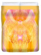 Angel Of Divine Protection Duvet Cover
