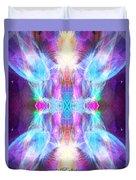 Angel Of Enlightenment Duvet Cover