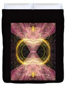 Angel Of Groups And Gatherings Duvet Cover