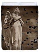 Angel Of Stone S Duvet Cover