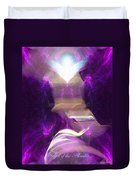 Angel Of The Akasha Duvet Cover
