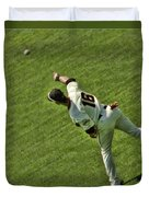 Angel Pagan Giants Duvet Cover