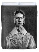 Angelina Grimk�, American Abolitionist Duvet Cover by Photo Researchers