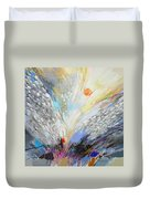 Angels Presence  - Square Painting Duvet Cover