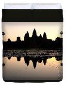 Angkor Wat At Sunrise Duvet Cover