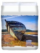 Anglesey Shipwreck Duvet Cover